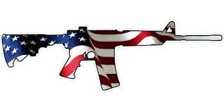 American Flag Ar15 Decal Sticker