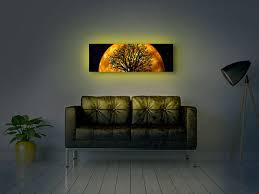 moderndek backlit canvas design s