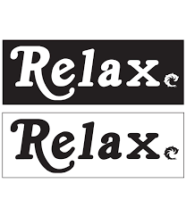 Relax Decal Wave Riding Vehicles