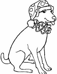 Kleuren Nu Hond Zit Netjes Klaar Kleurplaten