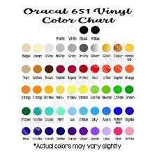5 Sheets Oracal 651 12x12 Sheets Adhesive Vinyl Decal Etsy