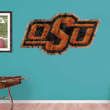 Upc 849469074845 Ncaa Oklahoma State Cowboys Realtree Logo Fathead Real Big Decals 42 W X 39 H Upcitemdb Com