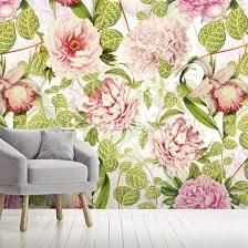 pastel pink dreams wall mural