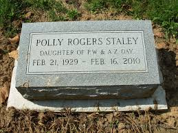 Greenmound Cemetery, Clermont County, Ohio/staley__polly_rogers