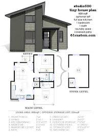 studio500 modern tiny house plan