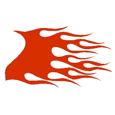 Flame Decals Clip Art Library