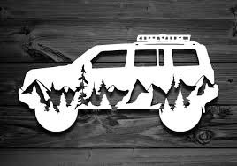 Mountain Vinyl Decal For Patriots Car Decal Mountain Etsy Jeep Patriot Accessories Jeep Patriot Vinyl Decals