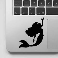 Beautiful And Elegant Mermaid Princess Mural Mermaid Ariel Sticker For Home Laptop Computer Decal Art Vinyl Mural Ga167 Wall Stickers Aliexpress