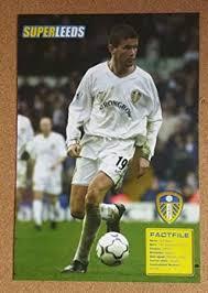 SUPER Leeds United Football Annual picture - EIRIK BAKKE Strongbow Home  Kit: Amazon.co.uk: Toys & Games