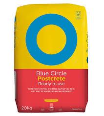 Blue Circle Ready Mixed Postcrete 20kg Bag Departments Diy At B Q