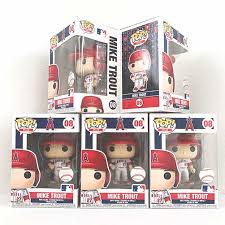 Funko Funko Mlb Los Angeles Angels Mike Trout Pop Vinyl Figure Collectible Toy
