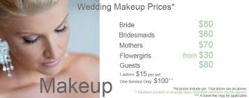 average cost of bridal makeup makeup now