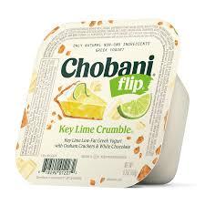 key lime crumble low fat greek yogurt
