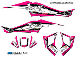 Can Am Can Am Renegade 500 800r 800x 800 X R 1000 Graphics Kit Decals Deco Atv Ushirika Coop