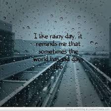 happy rainy day steemit