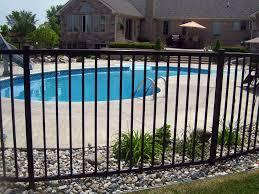 Pool Fence Installation Repair In Michigan D Fence Llc