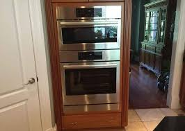 double wall oven with a single oven