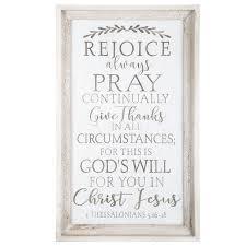 1 Thessalonians 5 16 18 Wood Wall Decor Hobby Lobby 1474311