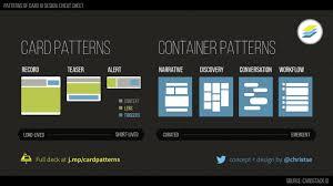 Patterns of Card UI Design by Chris Tse on Vimeo