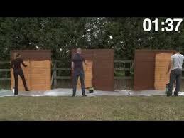 Ronseal Who Will Win Brush V Pump Sprayer V Power Sprayer Youtube