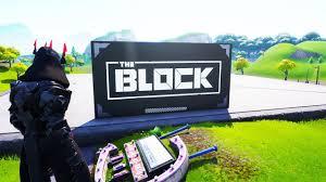 NEW Fortnite THE BLOCK MAP.. (RIP RISKY ...
