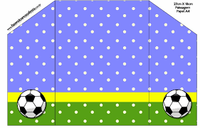Futbol Tarjetas O Invitaciones Para Imprimir Gratis