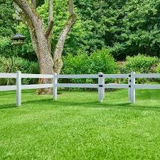 3 Ft X 5 Ft 2 Rail White Vinyl Ranch Fence Gate Yard Home
