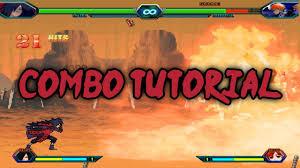 Bleach Vs Naruto 3.2 - Madara Uchiha Combo Tutorial - YouTube