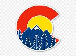 Sweet Colorado Flag And Mountain Sticker Colorado Sticker Clipart 937431 Pinclipart