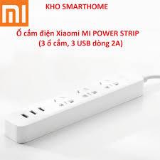 Bảng giá Ổ cắm điện Xiaomi (Mi Power Strip) với 3 ổ cắm điện, 3 ...