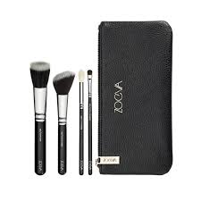 basic makeup kit kit with 4 brushes