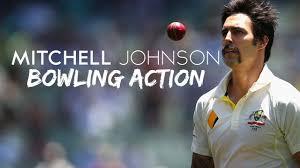 Mitchell Johnson Bowling Action HD 2017 - YouTube