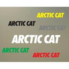 Does Not Apply 2 8 Arctic Cat Decal Vinyl Sticker Helmet Bike Motorcyle Extreme Ski Atv S610