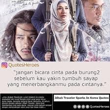 kutipan film kdrama on jilbab traveler love spark in