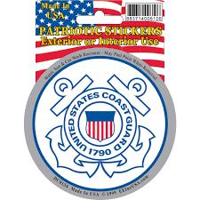 Shop Us Coast Guard Car Decal Overstock 15885939