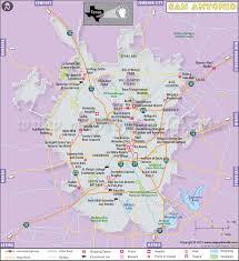 san antonio map map of san antonio texas
