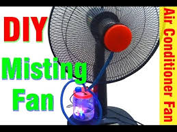 how to make misting fan at home diy