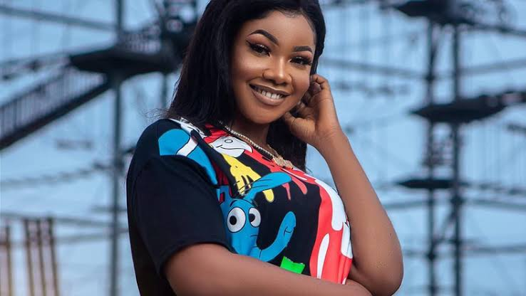 What Tacha did after deleting her Instagram posts