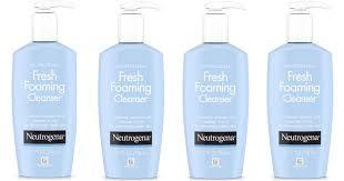 neutrogena fresh foaming cleansers only