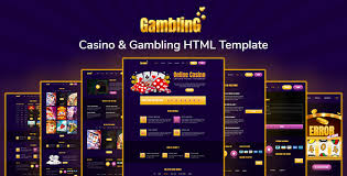 Casino Website Templates from ThemeForest