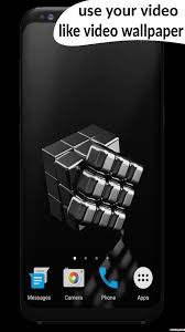 black cube video wallpaper android