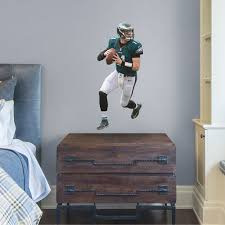 Fathead Carson Wentz X Large Officially Licensed Nfl Removable Wall Decal Walmart Com Walmart Com