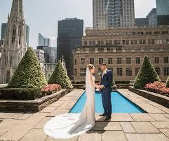 rooftop wedding ceremony at 620 loft