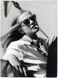 Hildegard Knef Chilling in the Sun, 1955 for sale at Pamono