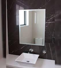 frameless mirrors sydney bathroom