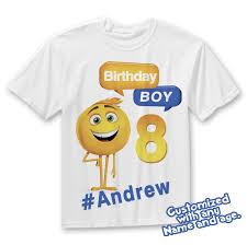 Emoji Movie Birthday Shirt Emojis Cumple