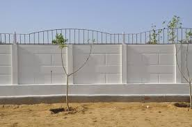Precast Compound Wall Manufacturers In Bangalore Compound Wall Design Wall Lighting Design Compound Wall