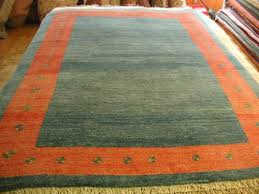 blue and red gabbeh modern persian rug