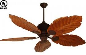 ing a tropical outdoor ceiling fan