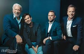 """The Hollywood Reporter on Twitter: """"Kiefer Sutherland: """"[My parents] never  pushed me. Both of my parents were disappointed that this was what I wanted  to do. I think I felt the same"""